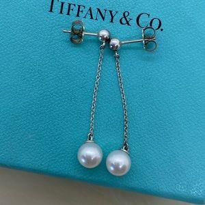 Tiffany & Co. Ziegfeld Pearl Drop Earrings